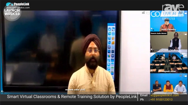 InfoComm 2020: PeopleLink Corporate Solutions Introduces Smart Virtual Classroom and Remote Training