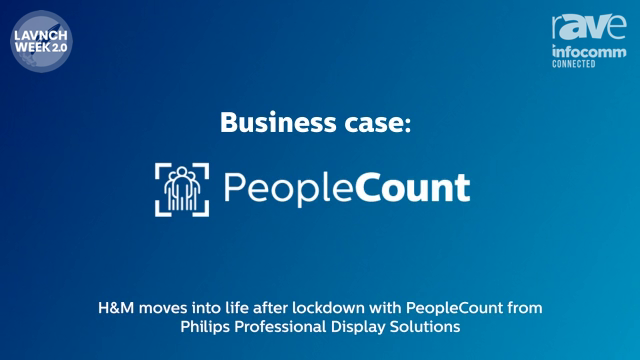 InfoComm 2020: Philips Discusses PeopleCount Social Distancing Solution