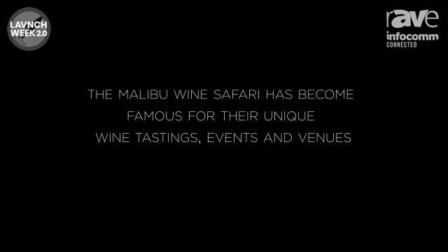 InfoComm 2020: Sonance Presents Malibu Wine Safari, an Audio Case Study