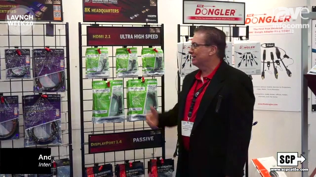 """InfoComm 2020: Structured Cable Products Features """"The Dongler"""""""