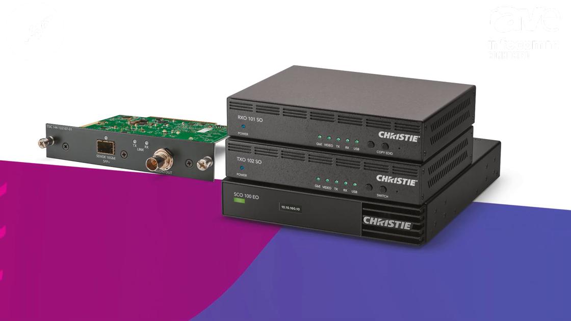 InfoComm 2020: Christie Shows Christie Terra, an AV-over-IP Solution Built on SDVoE