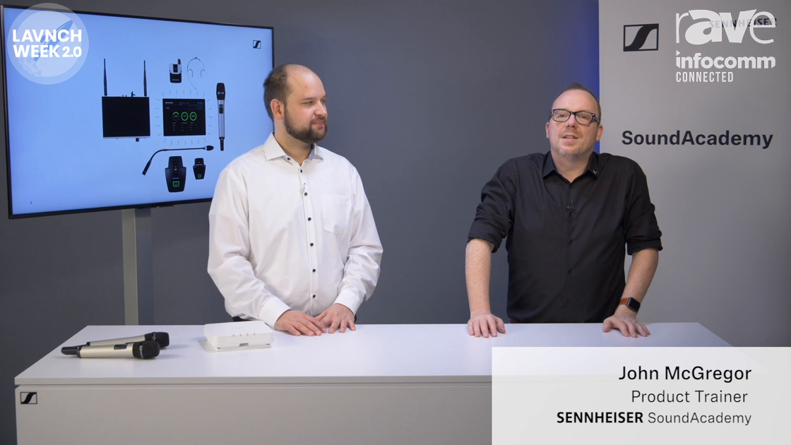 InfoComm 2020: Sennheiser Introduces New Speech Line Digital Wireless Multi-Channel Receiver