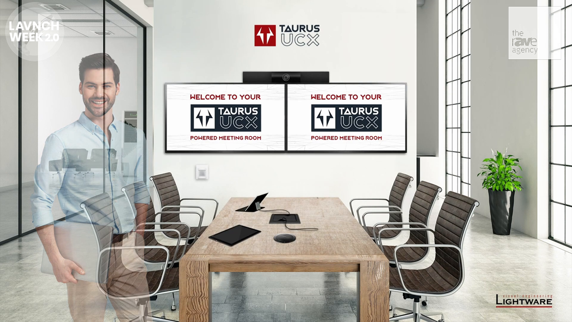 LAVNCH WEEK: Lightware Introduces Taurus UCX – Connectivity for Today's Meeting Rooms
