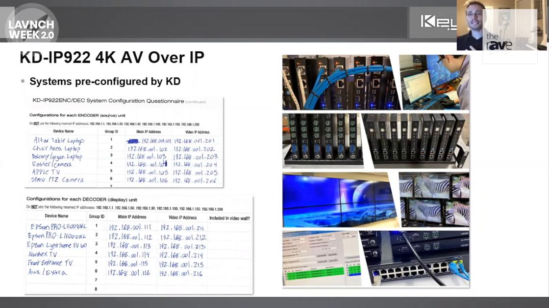 LAVNCH WEEK: Key Digital Highlights KD-IP922 4K AV over IP Solution