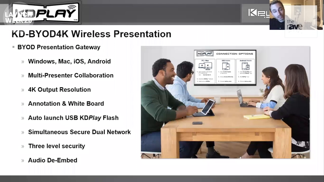 LAVNCH WEEK: Key Digital Presentes KDPlay BYOD Wireless Presentation Platform