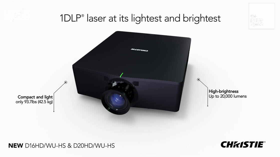 LAVNCH WEEK: Christie HS Series laser projectors