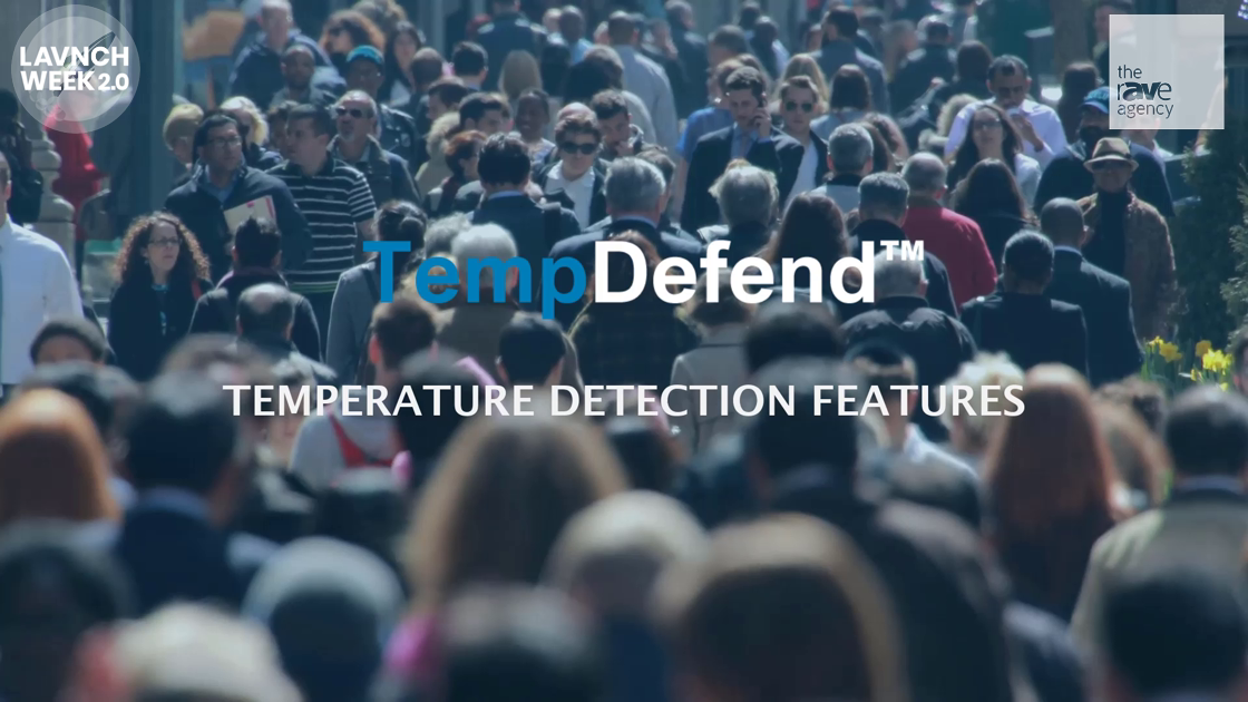 LAVNCH WEEK: 22 Miles Presents Temp Defend, Temperature Detection Software