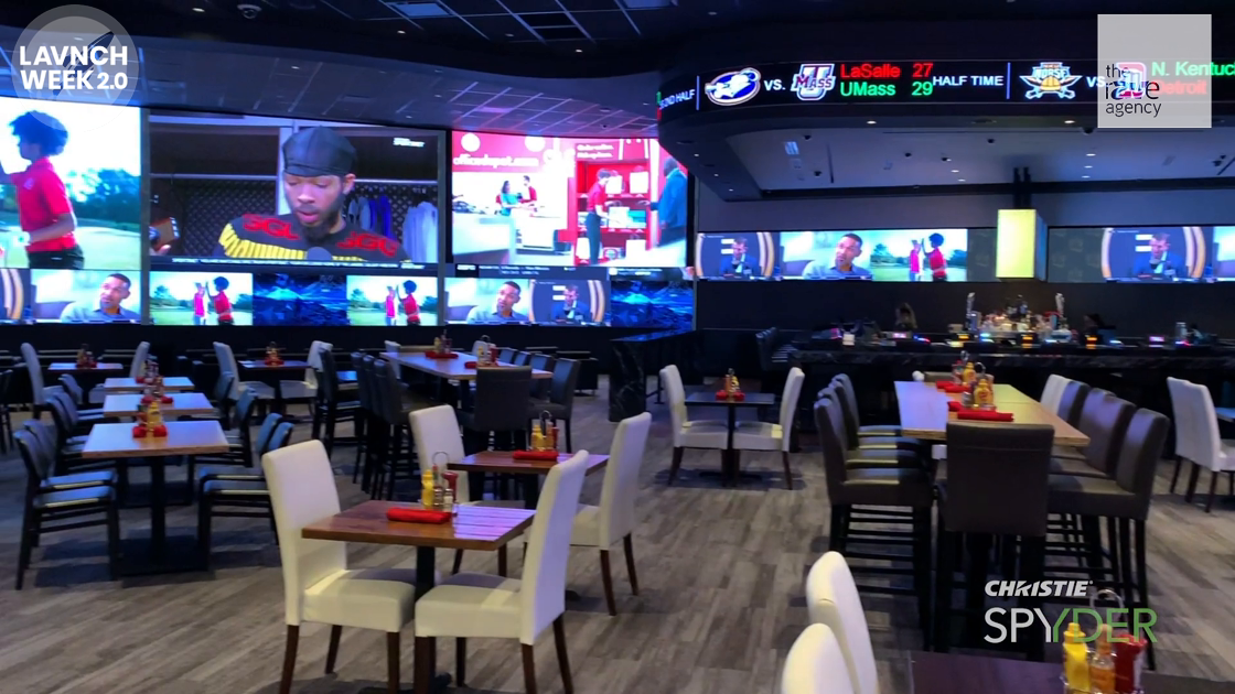 LAVNCH WEEK: Christie Spyder Feeds Agua Caliente's 360 Sports Bar and Restaurant