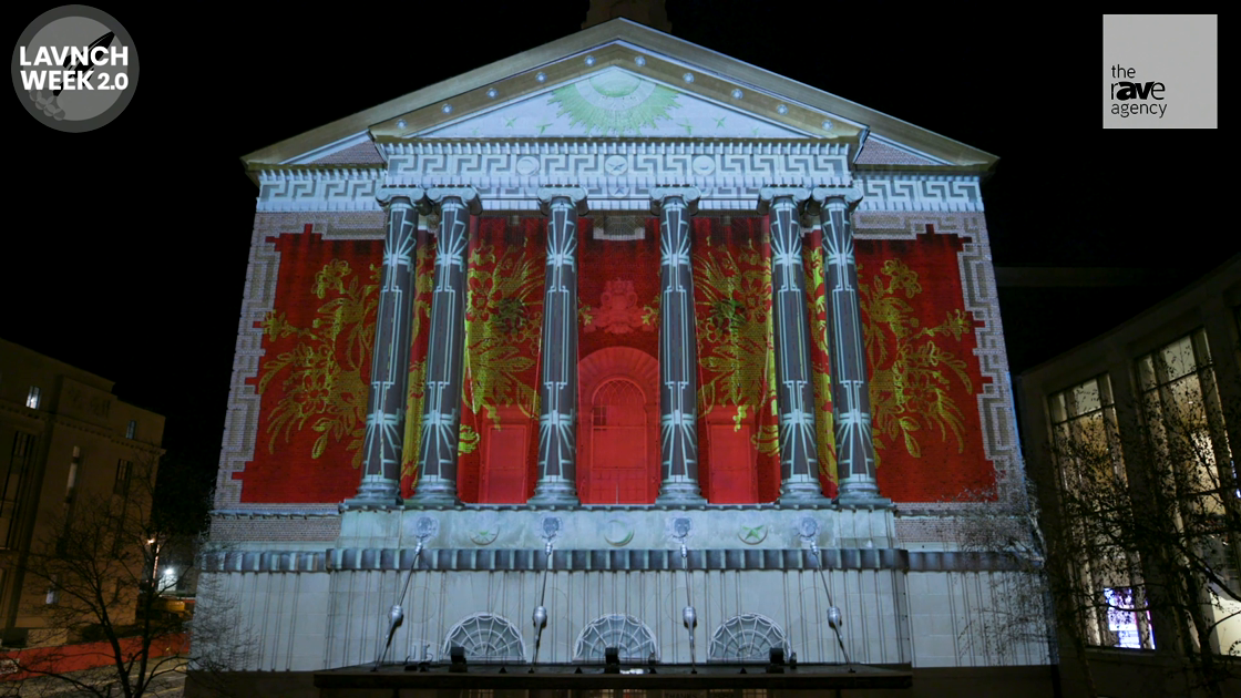 LAVNCH WEEK: Christie- UConn Digital Media & Design Students Stage Stunning Projection Mapping