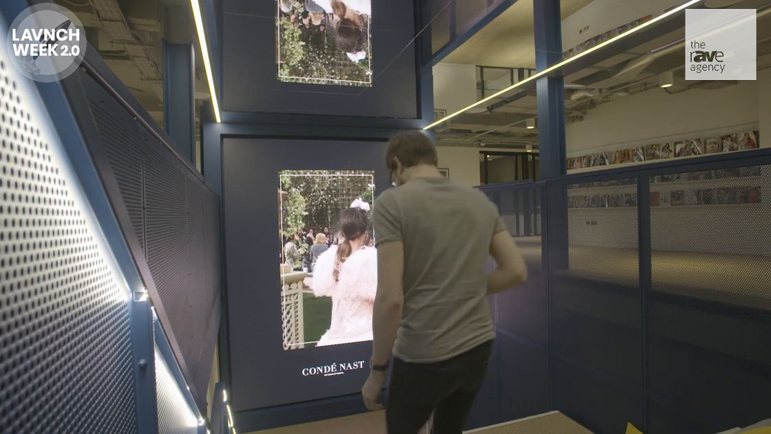 LAVNCH WEEK: Condé Nast International Chooses Christie Technology to Deliver Striking New Video Wall