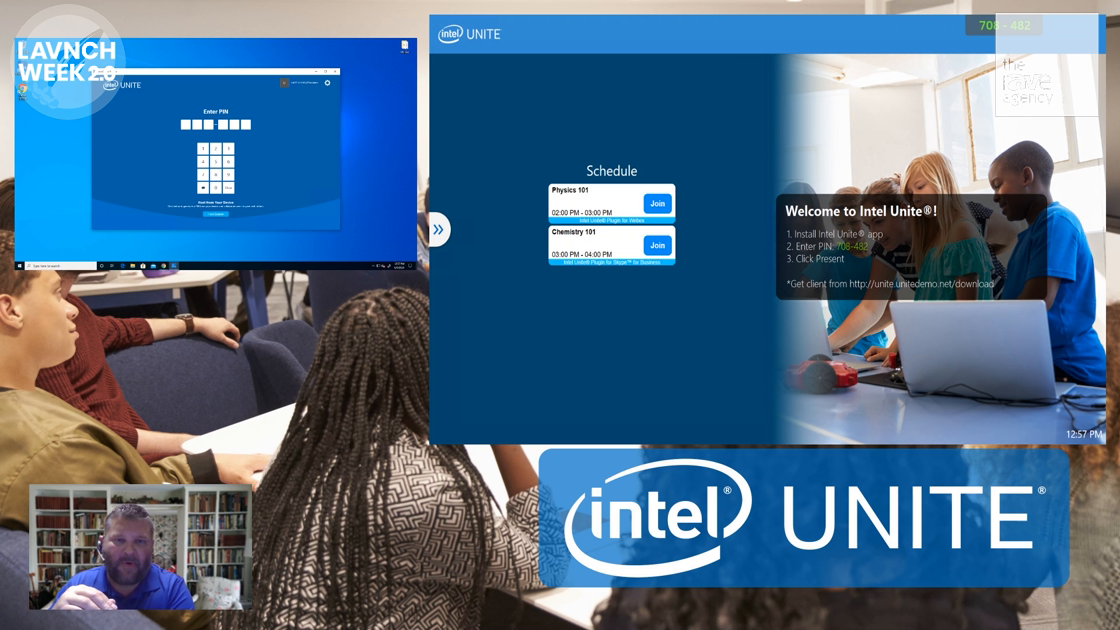 LAVNCH WEEK: Intel Unite, Comprehensive Solution for Content Sharing and Collaboration