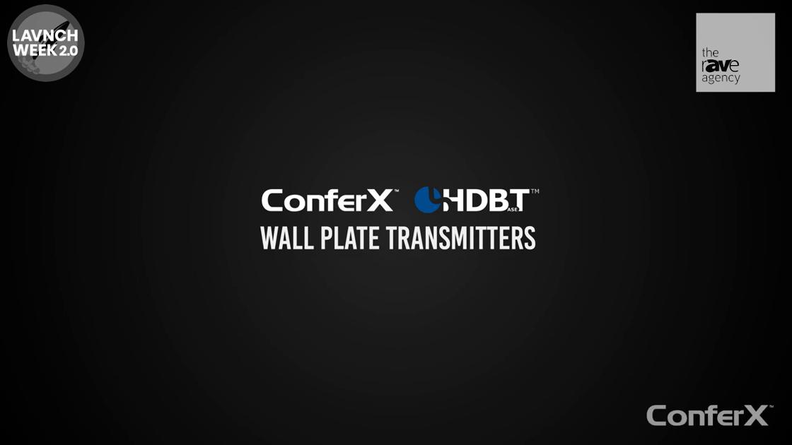 LAVNCH WEEK: AVPro Edge ConferX Wall Plates