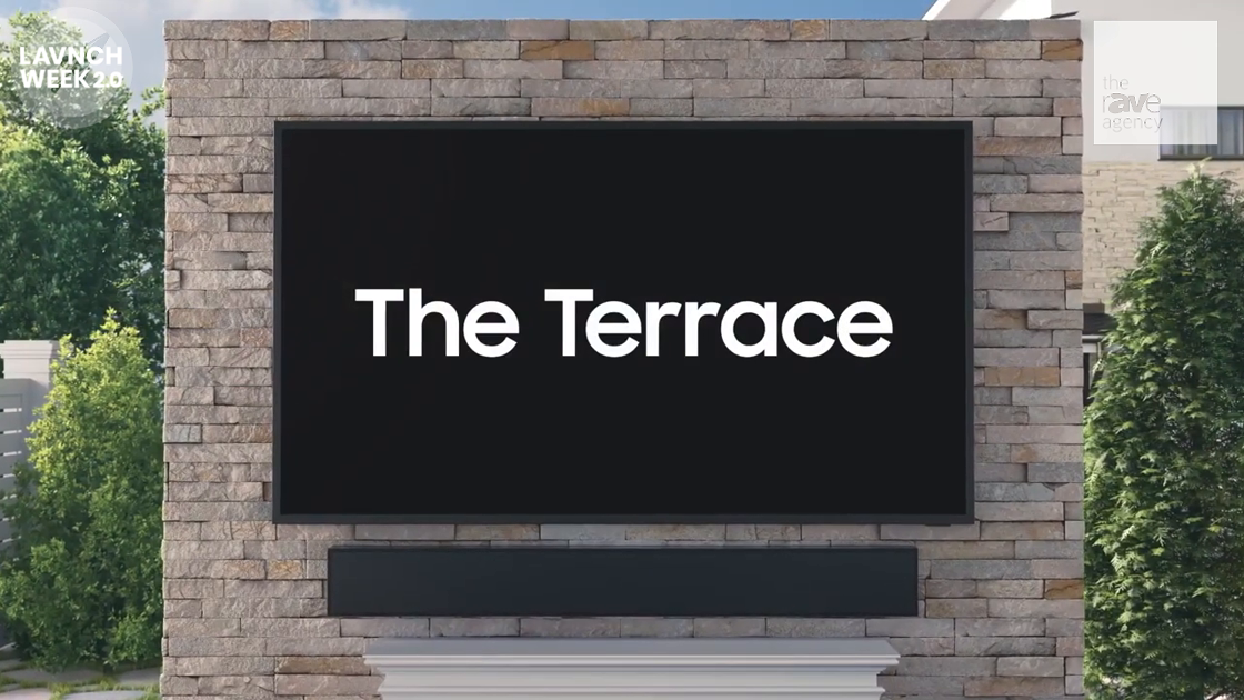 LAVNCH WEEK: Samsung – The Terrace Outdoor QLED TV