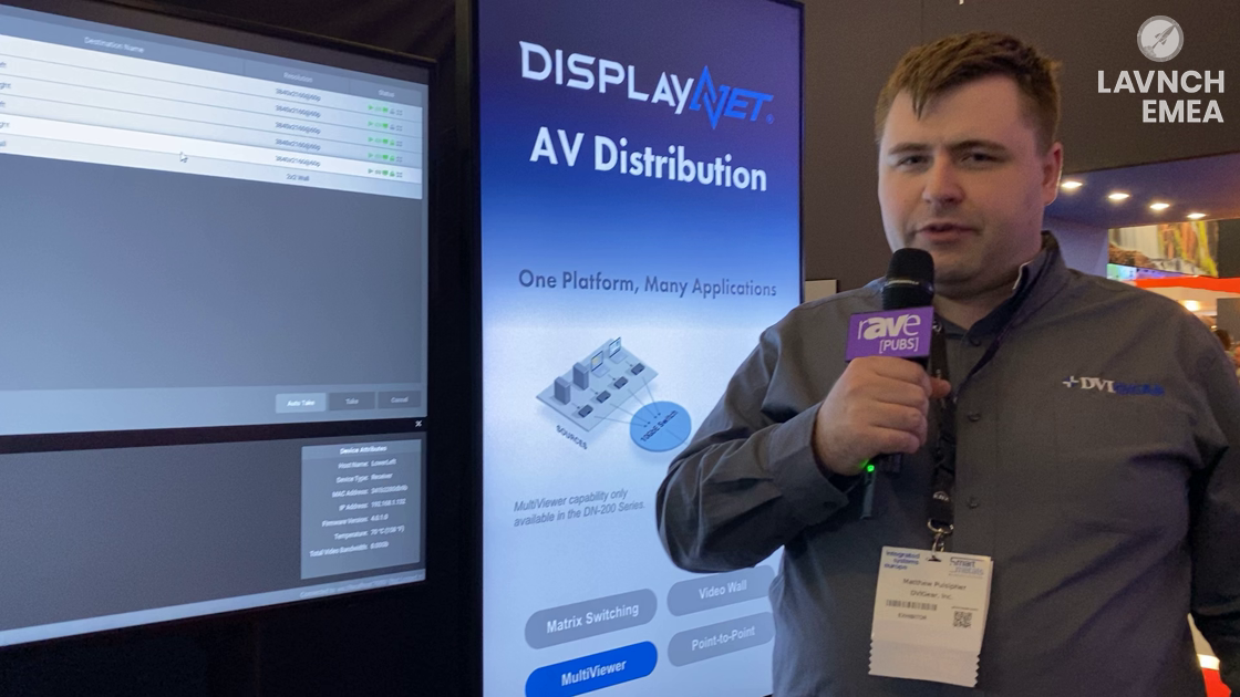 LAVNCH EMEA: DVIGear Features the DN-150-TX-Quad HDMI Input Module for NETGEAR M4300-96X