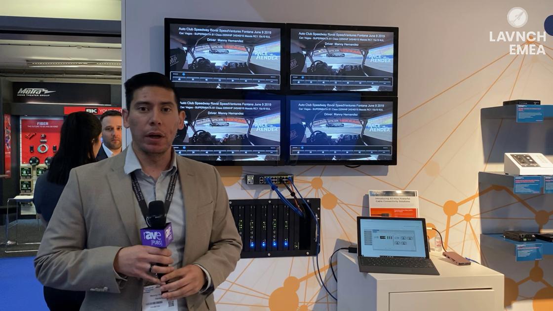 LAVNCH EMEA: KanexPro Demos Next Generation Modular Matrix System Powered by SDVoE