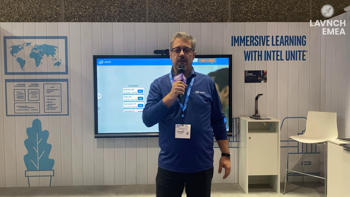 LAVNCH EMEA: Intel Unite Powers the Classroom and Allows Schools to Teach to the Future