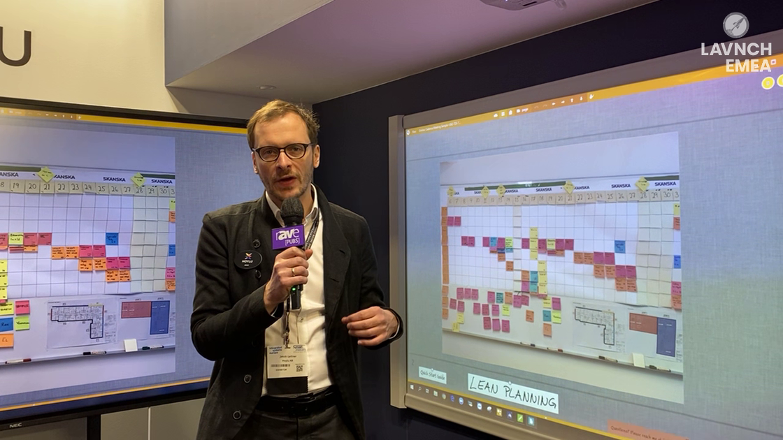 LAVNCH EMEA: Hoylu Demos Software for Agile Planning