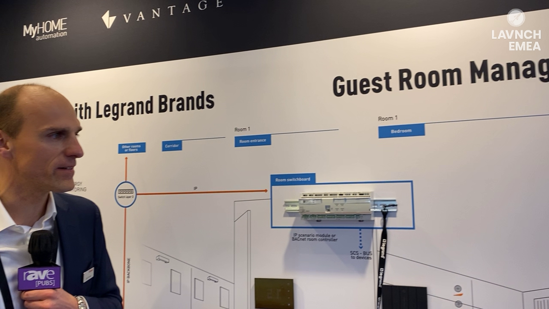 LAVNCH EMEA: Legrand Integrated Solutions Talks Guest Room Management System