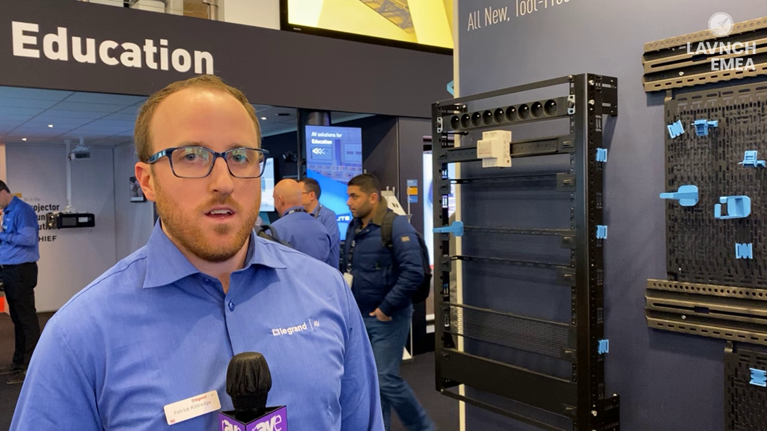 LAVNCH EMEA: Middle Atlantic Discusses Forward, Family of Rack Mounting Solutions in Legrand Stand