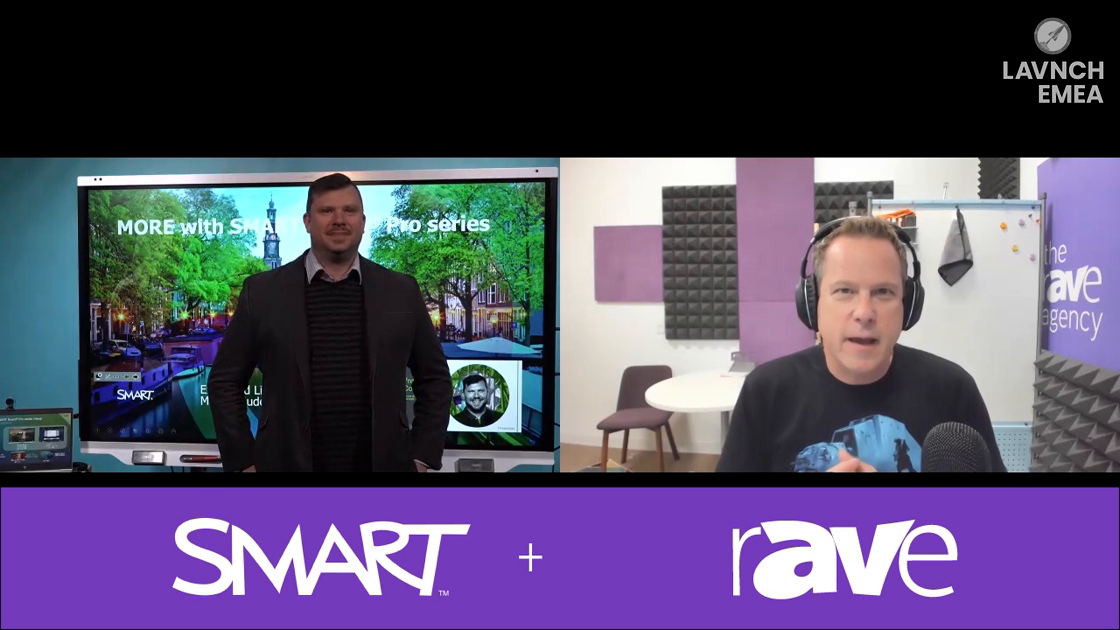 LAVNCH EMEA: Miss Seeing SMART Tech's New Collaboration Boards at ISE? Here's a Real-Time Video