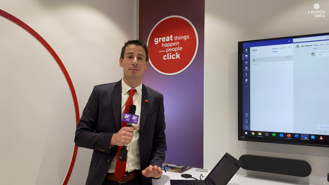 LAVNCH EMEA: Barco Unveils the CX-50 ClickShare Conference, Demos With Logitech Rally Plus for BYOM