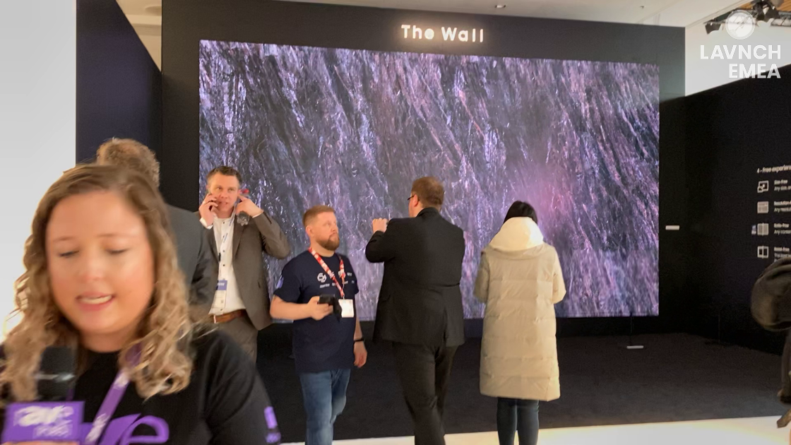 LAVNCH EMEA: Samsung Expands The Wall Series and Introduces The Wall for Business
