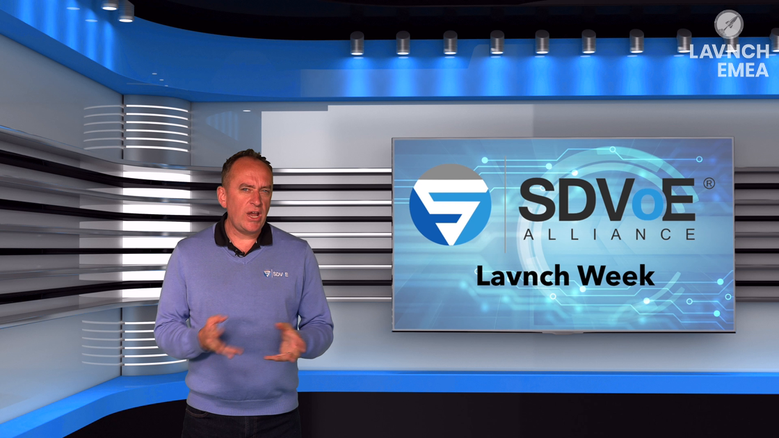LAVNCH EMEA: SDVoE – The Matrix Transformed
