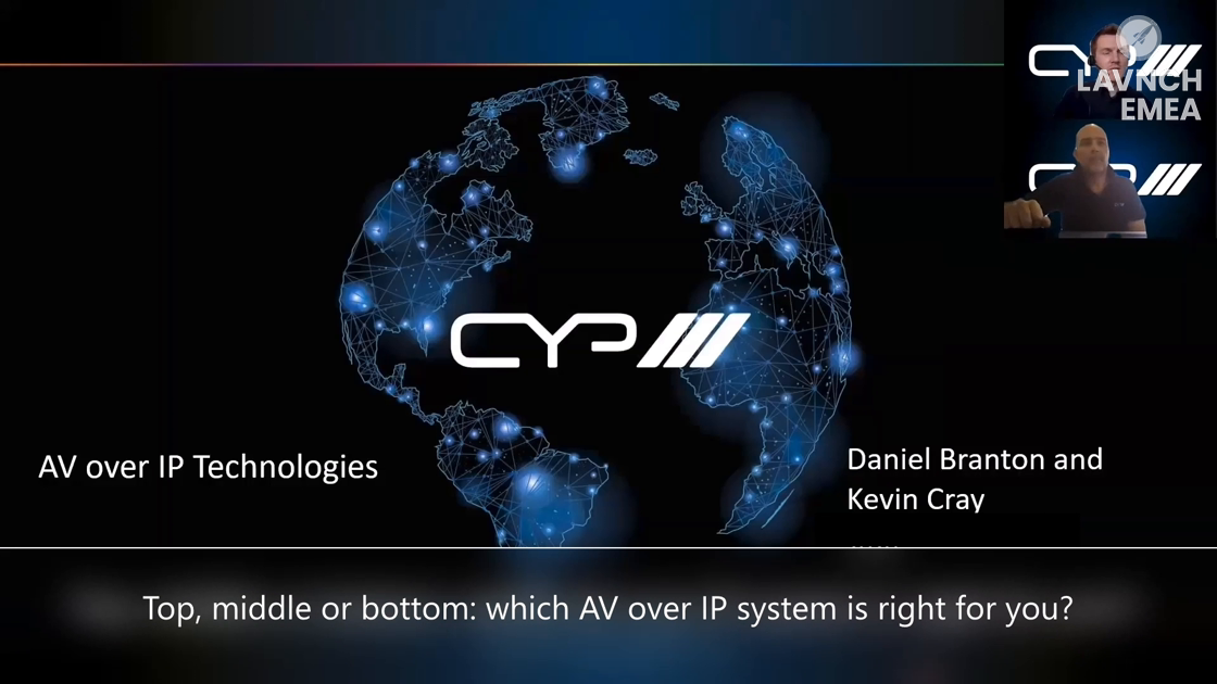 LAVNCH EMEA: CYP Europe – Top, Middle or Bottom – Which AV over IP system is right for you?