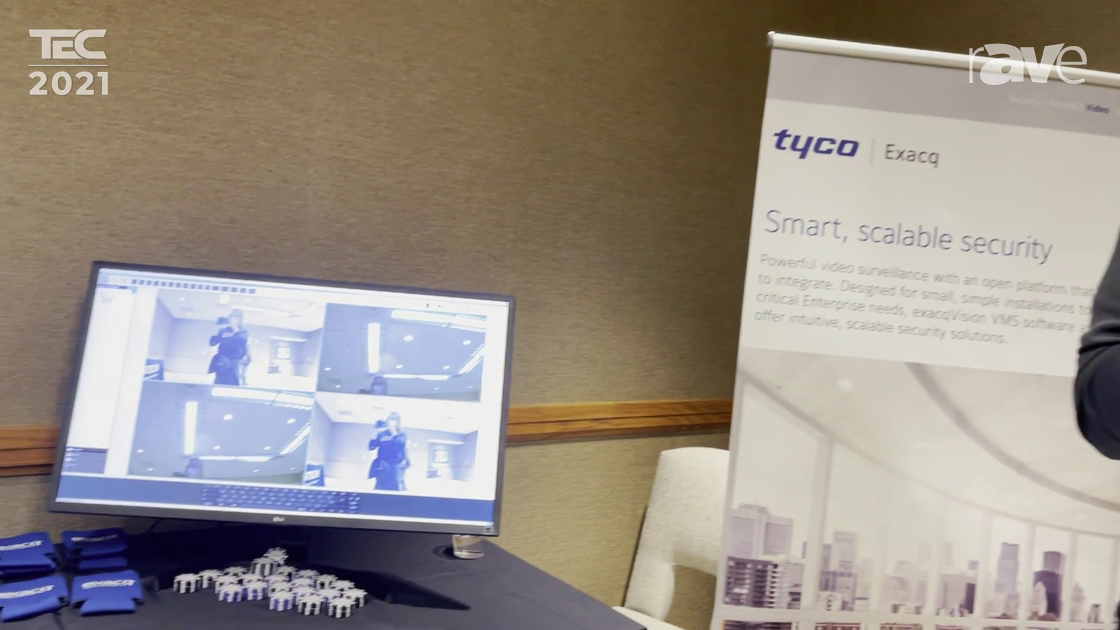 TEC 2021: Tyco Presents ExacqVision VMS Products with User-Friendly Mobile and Web Browser Access