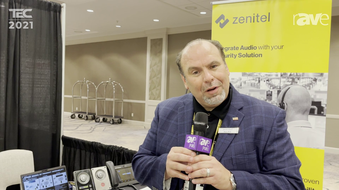 TEC 2021: Zenitel USA Demos Frictionless, Touchless Access Control IP Solution