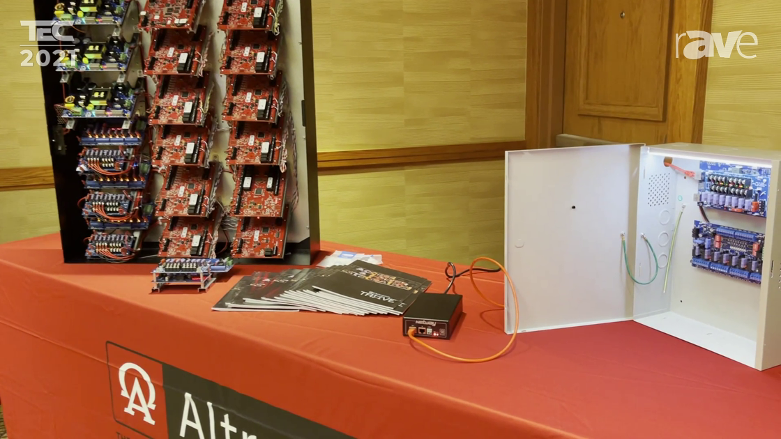TEC 2021: Altronix Showcases Tango1B with PoE Driven Power Supply and Backup Voltage Regulator