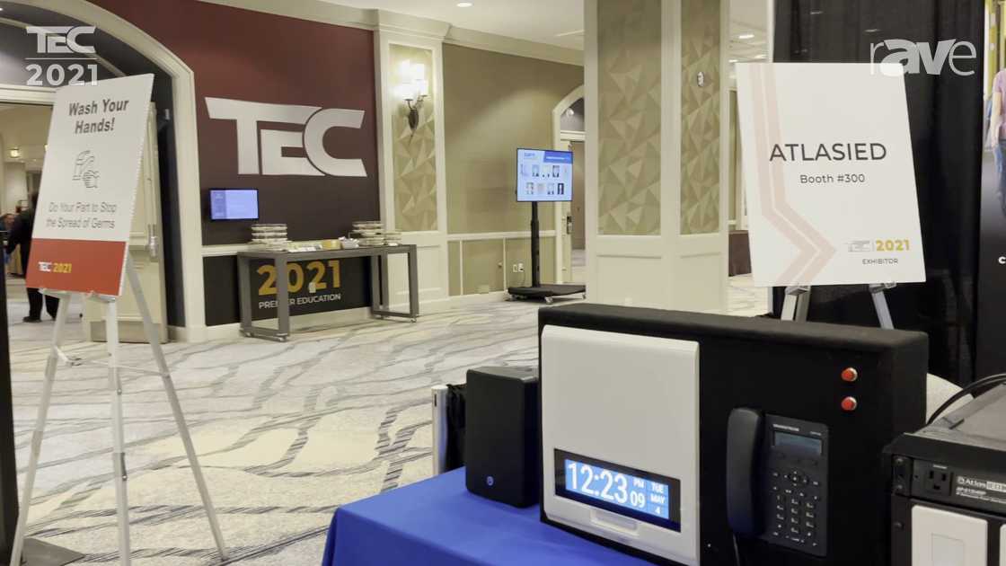 TEC 2021: AtlasIED Demos IPX Endpoint Solution with GlobalCom Headend for Quick Notifications