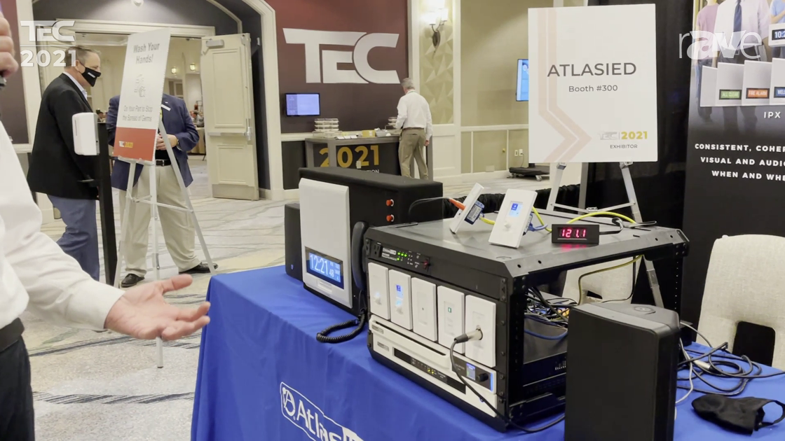 TEC 2021: AtlasIED Presents New Atmosphere Platform for Audio Processing and Control