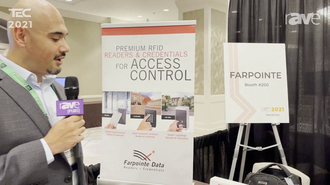 TEC 2021: Farpointe Data Presents RFID Bluetooth Reader for Increased Access Control Security