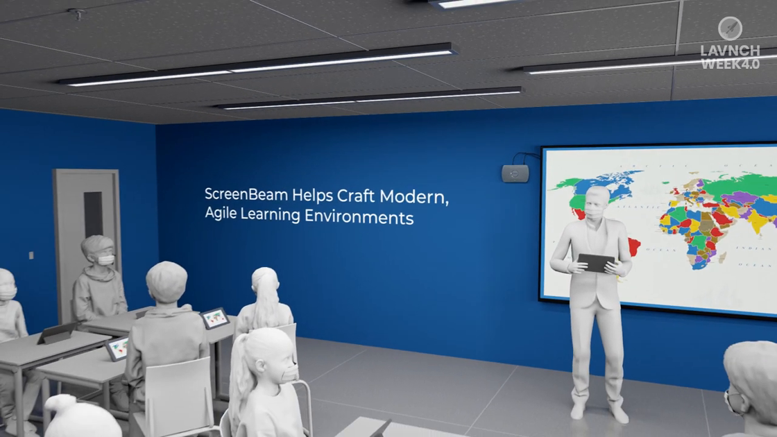 LAVNCH WEEK 4.0: ScreenBeam Brings Teacher Agility to Every Classroom