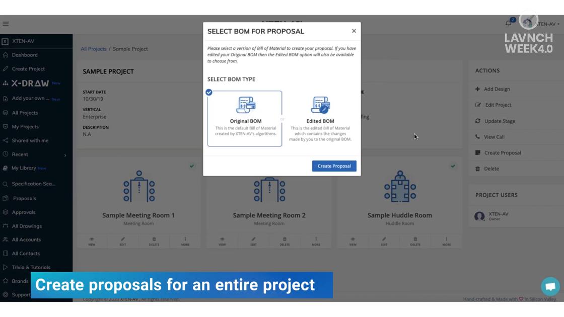LAVNCH WEEK 4.0: Enhanced Proposals By XTEN-AV