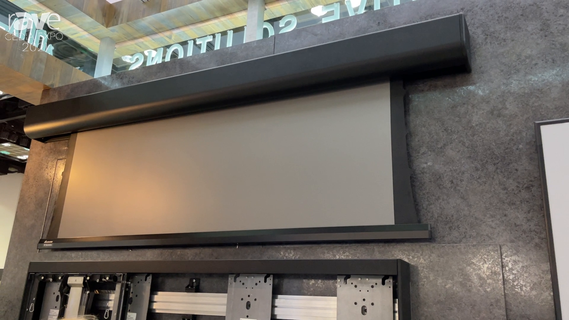 CEDIA Expo 2021: Draper Features the AcumenSeries of Surface Mounted Projection Screens
