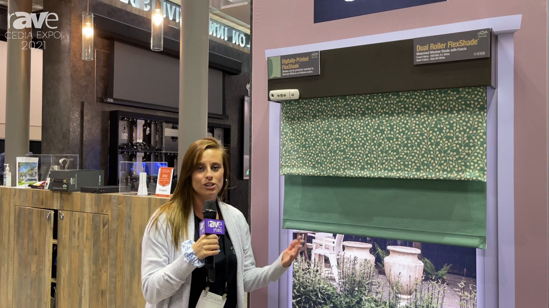 CEDIA Expo 2021: Draper Features Digitally-Printed and Dual Roller FlexShade Line