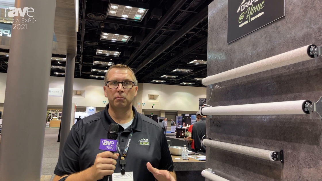 CEDIA Expo 2021: Draper Walks Through Its Line Up of Motorized Shades Powered by Somfy