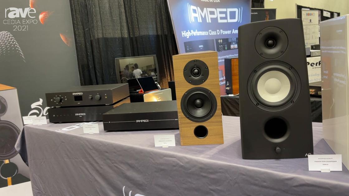 CEDIA Expo 2021: Acoustique Quality Shows Versatile and Sleek Loudspeaker Selection