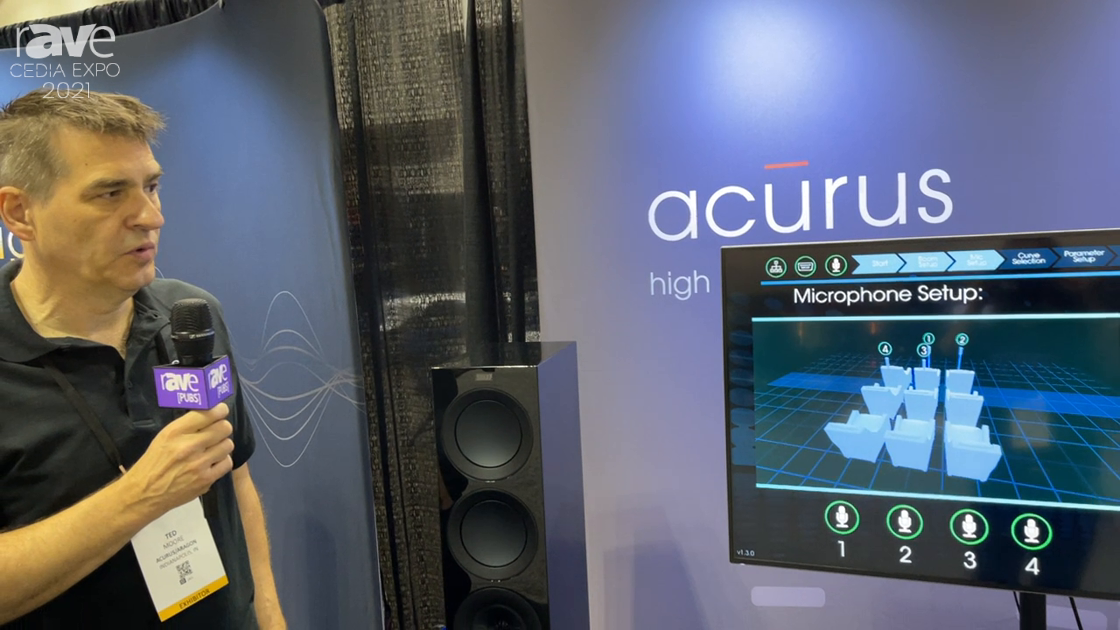 CEDIA Expo 2021: Acurus Displays ASPEQT Calibration System for High-Performance Audio Systems