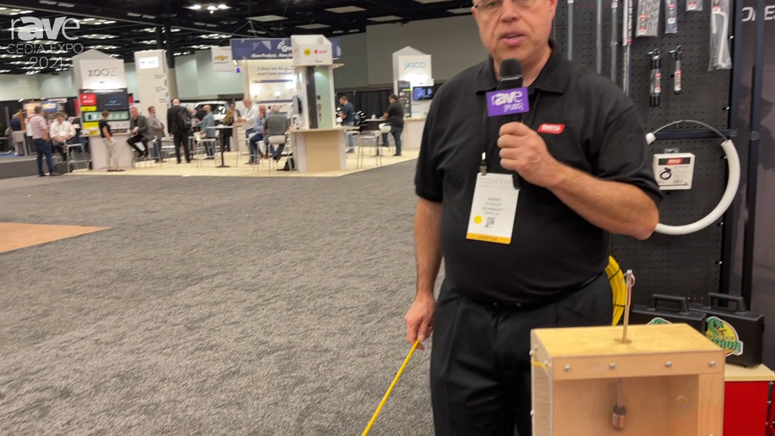 CEDIA Expo 2021: BES Products Demos Pro Set 36′ Kit for Efficient Cable Running and Installation