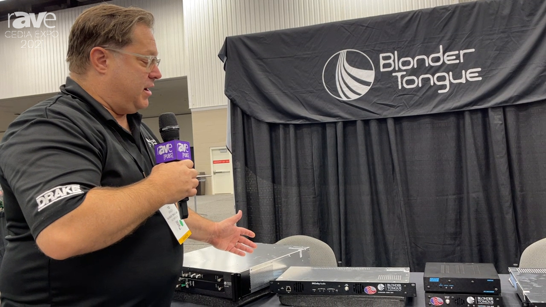 CEDIA Expo 2021: Blonder Tongue Presents Clearview HDMI12 QAM 2 Channel HDMI to QAM Encoder
