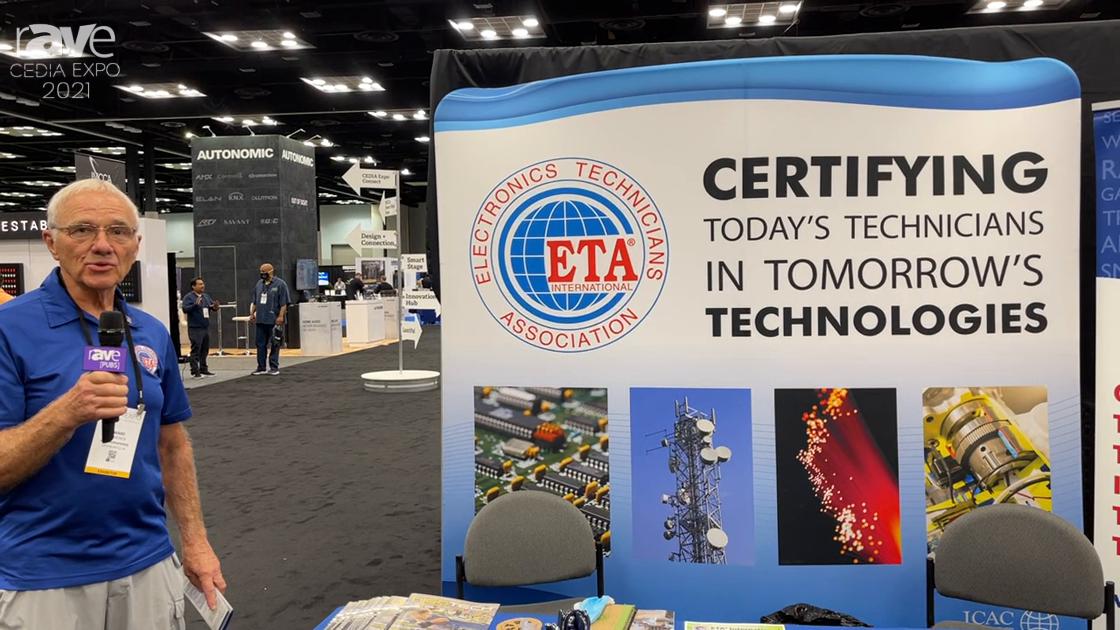 CEDIA Expo 2021: ETA International Discusses Versatile Certifications for Technical Professionals