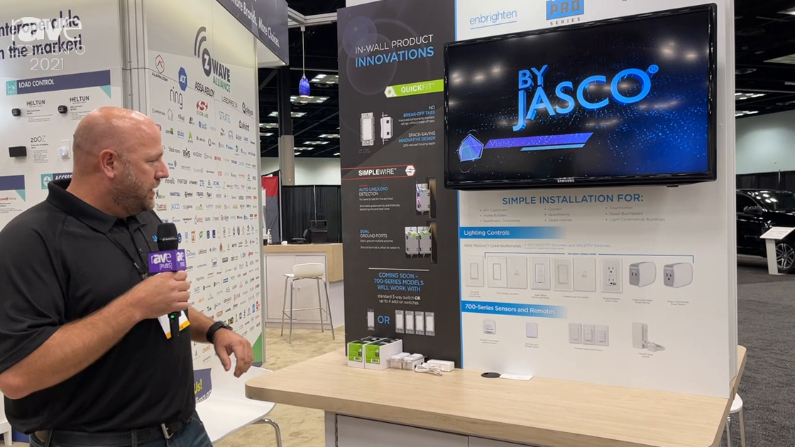 CEDIA Expo 2021: Jasco Introduces 700-Series In-Wall Switches with 3-Way Switch Capabilities