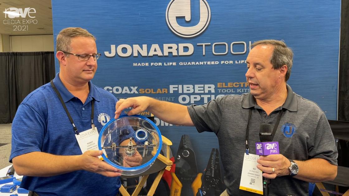 CEDIA Expo 2021: Jonard Demos AHC-19 Adjustable Round Hole Cutter with Vaccuum Port