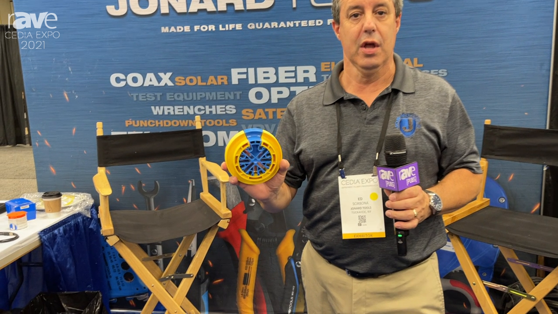CEDIA Expo 2021: Jonard Presents CCB-25 Cable Comb Organizing Tool for Easy Installation