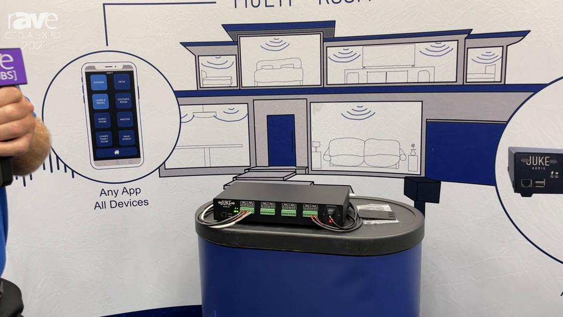 CEDIA Expo 2021: Juke Audio Exhibits Juke-8 Multi-Room Amplifier for Wireless Streaming