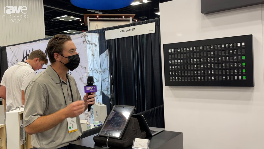 CEDIA Expo 2021: Vestaboard Showcases Smart Messaging Display with App-Controlled Message Automation