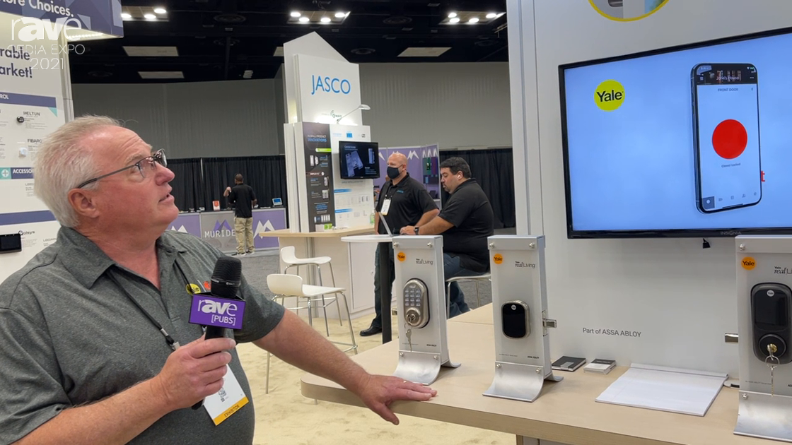 CEDIA Expo 2021: Yale Presents Assure Locks Family of Touch Screen and Push Button Lock Systems